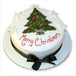 merry-christmas cakes