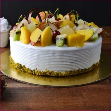 fresh-fruits cake flavor