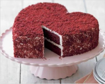 Red Velvet Cake by Bakers Crown Gurgaon