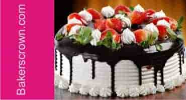 Strawberry flavor cake delivery in gurgaon