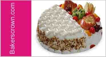 Mixed of Two Cake Flavor Cake Delivery in Gurgaon